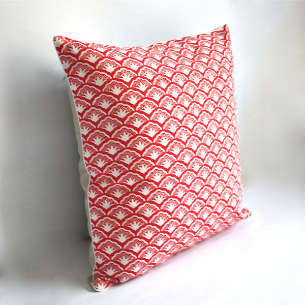 Legacy Crimson Pillow 2