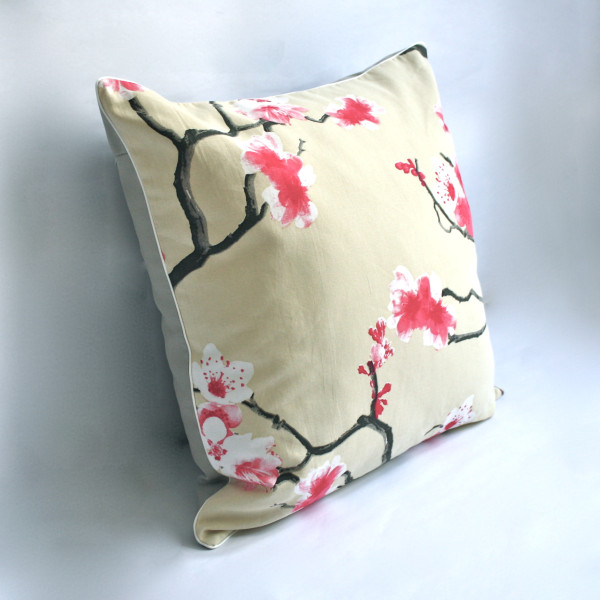 Sakura Cream Pillow 2