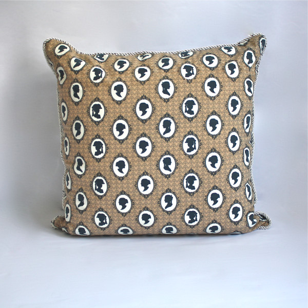 Cameo Mocha Pillow 2