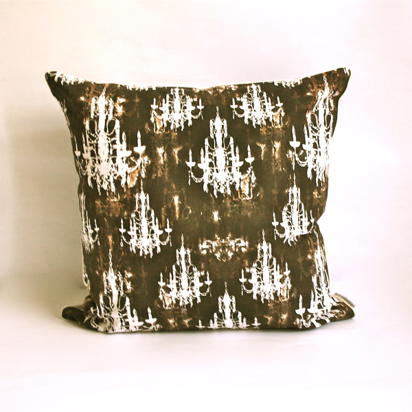 Lumiere Taupe Pillow 2