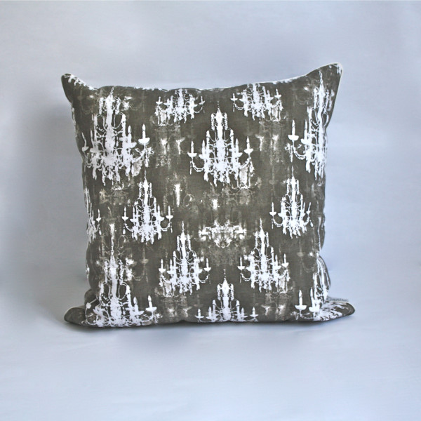 Lumiere Charcoal Pillow 2