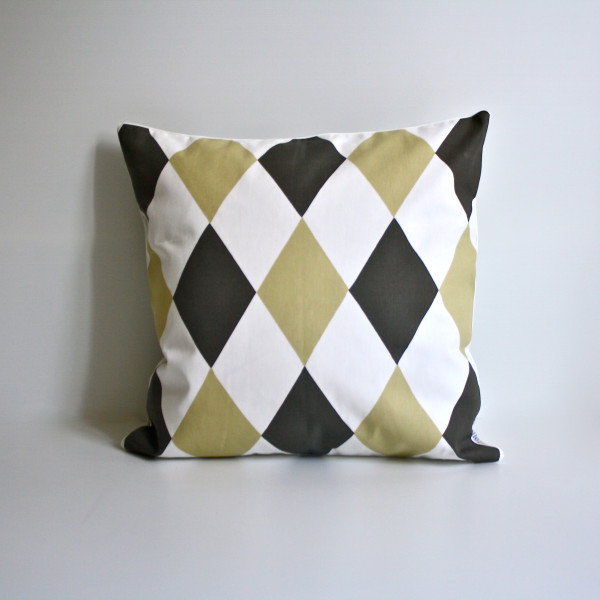 Harlequin Pillow Front