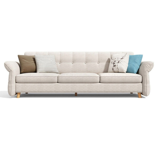 Janell II 3 Seater Sofa Bed (Cream)
