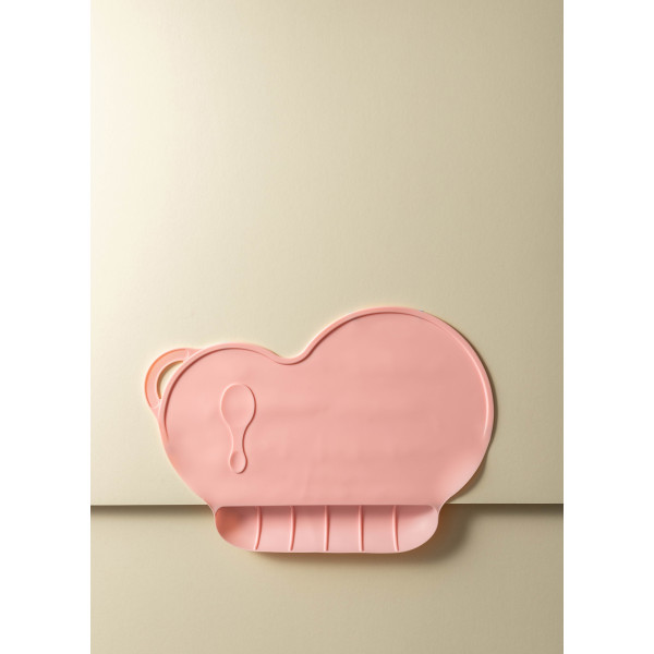 Clarra Silicone Non-Slip Kids Placemat (Rose Pink)