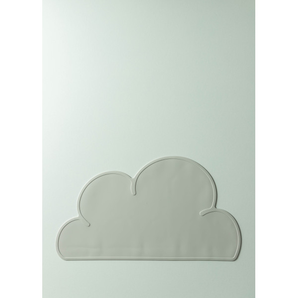 Mika Silicone Cloud Placemat (Rhino Grey)