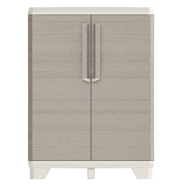 Wood Grain Base Cabinet With Installation