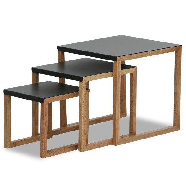 Kola A-oak-anth Table Set