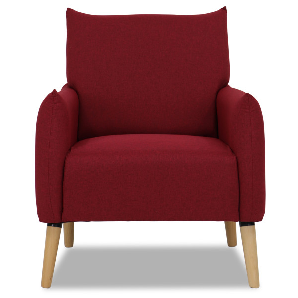 Kornel Arm Chair (Maroon)