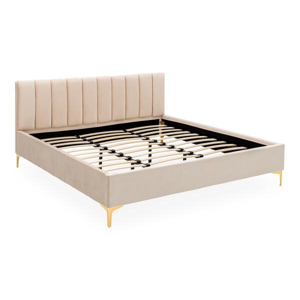 Kylan Upholstered King Bed Champagne