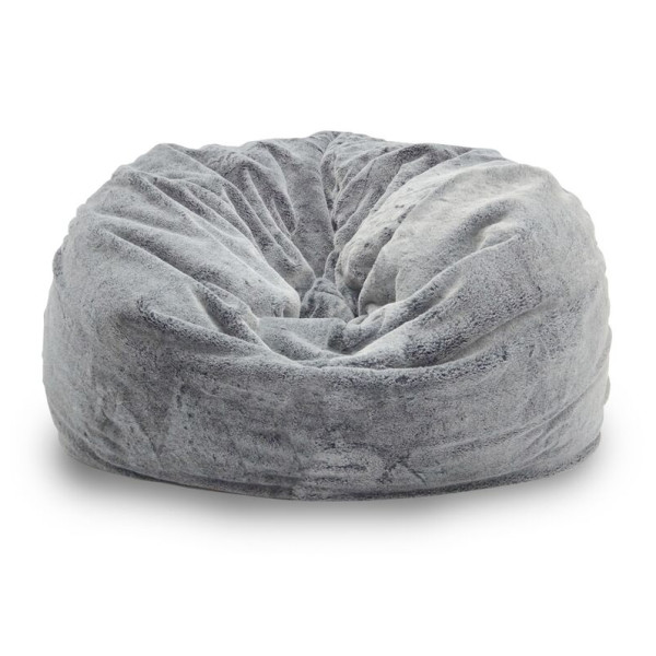 Achelous Bean Bag in Small Sized - Cloud Grey