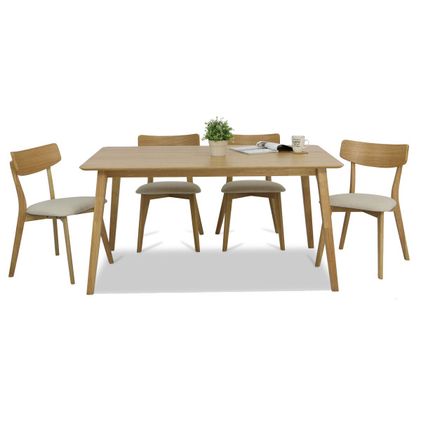 Loto Dining Table Set A (1+4)