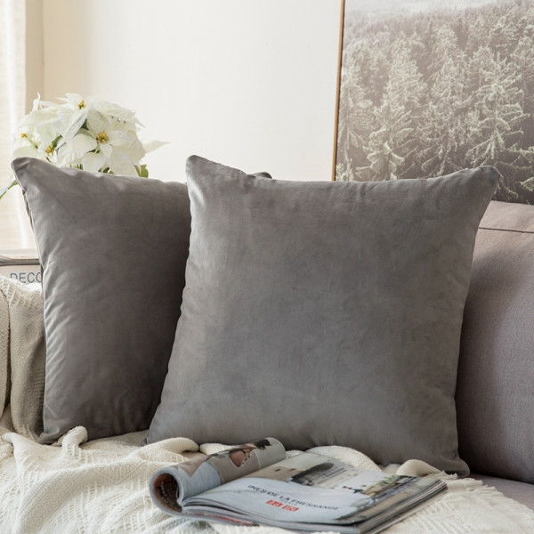 Edyth Cushion (Light Grey)