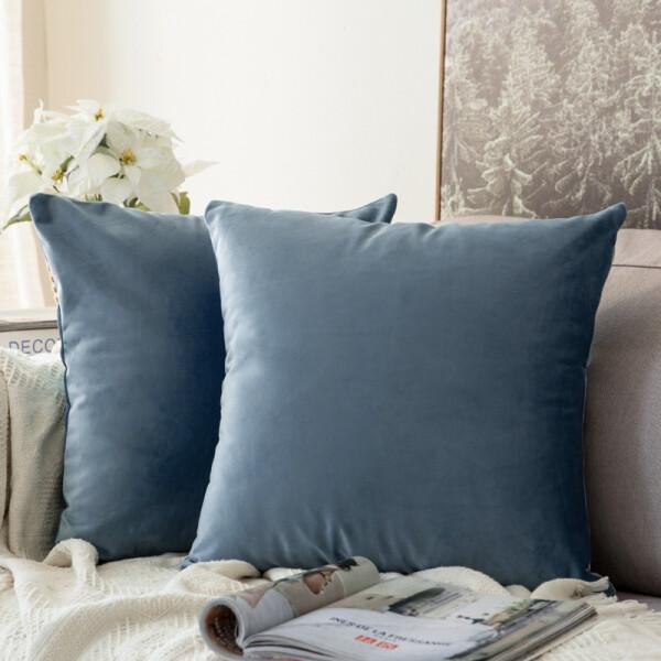 Edyth Cushion (Pastel Blue)