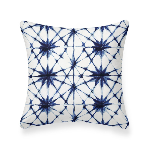Nale Cushion (White/Blue)