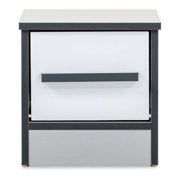 Mila Side Table in Light Grey