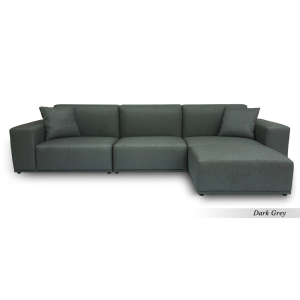 Moota 3 Seater Sofa with Ottoman