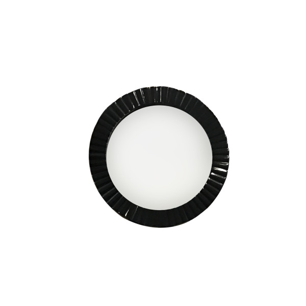 Philos - Skirt Black Gloss Round Mirror D60 (MR1701-BLK-D60)