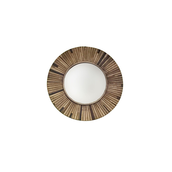 Philos - Pleat Round Small Mirror (MR1701-D60)