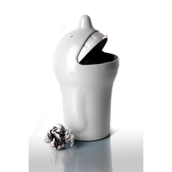 Bin - Mr. P Be Happy (White) (Small) By Propaganda