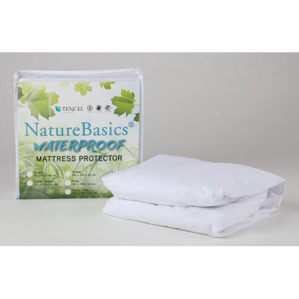 Nature Basics Tencel Waterproof Mattress Protector