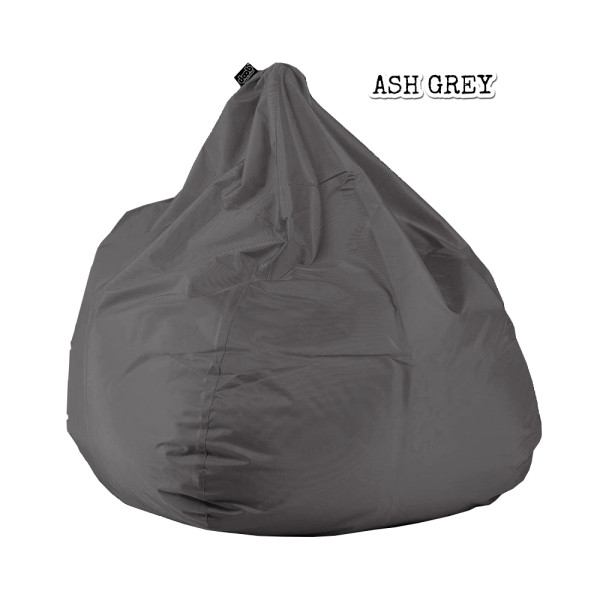 Plop BeanBag Ash Grey By doob