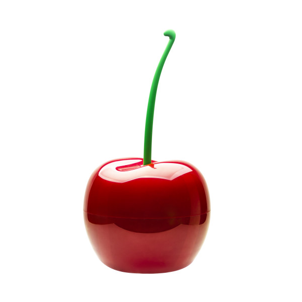 Cherry Bin-Container By Qualy (Red)