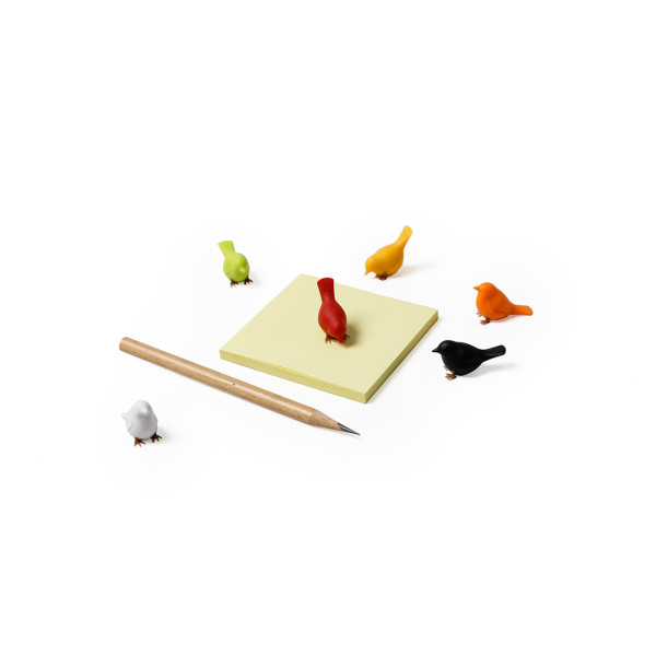 Mini Sparrow Magnet Set (Assorted) by Qualy