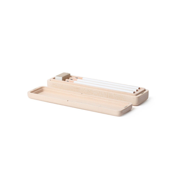 Blok: Pencil Case (Maple) by Pana Object