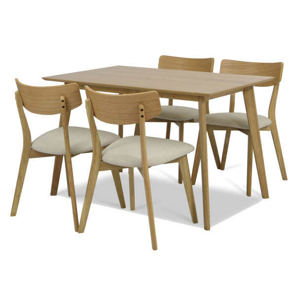 Ross Dining Table Set A (1+4)