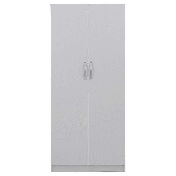 Roswell 2 Door Wardrobe in Snow White