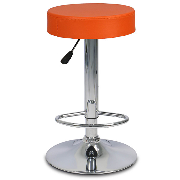 Roudy Bar Stool (Orange)