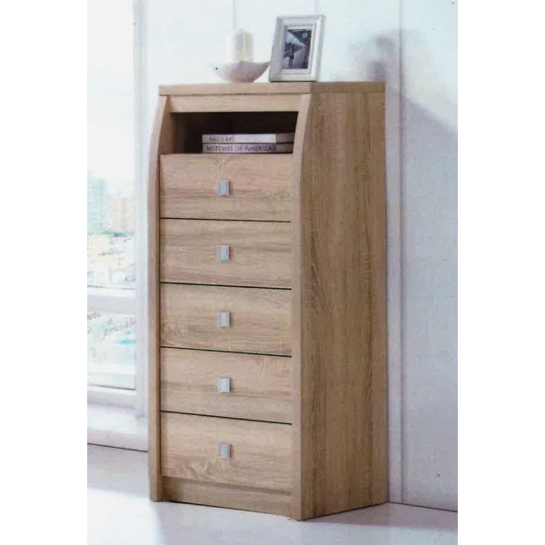 Waffle Chest of Drawer (Oak)