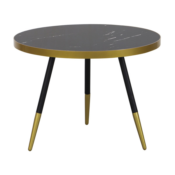 Marble Coffee Table In Singapore: Paloma Coffee Table In Black Marble - Sale