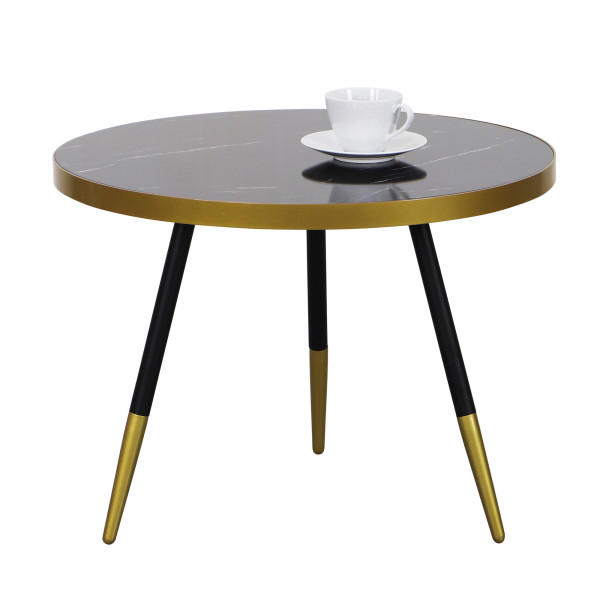 Marble Coffee Table In Singapore: Paloma Coffee Table In Black Marble