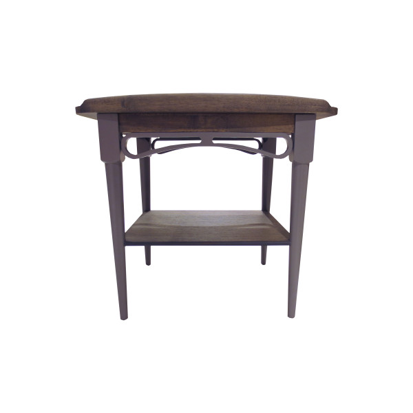 Philos - Ring Side Table (Black Wash)