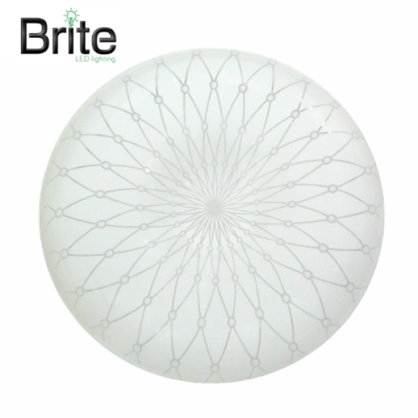 Brite LED Star Round Ceiling Light Set (Daylight) 18W