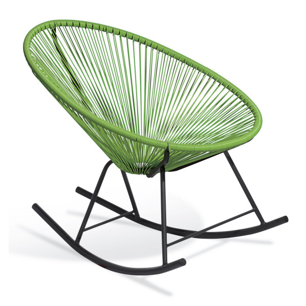 Lucky Clover Patio Rocking Chair