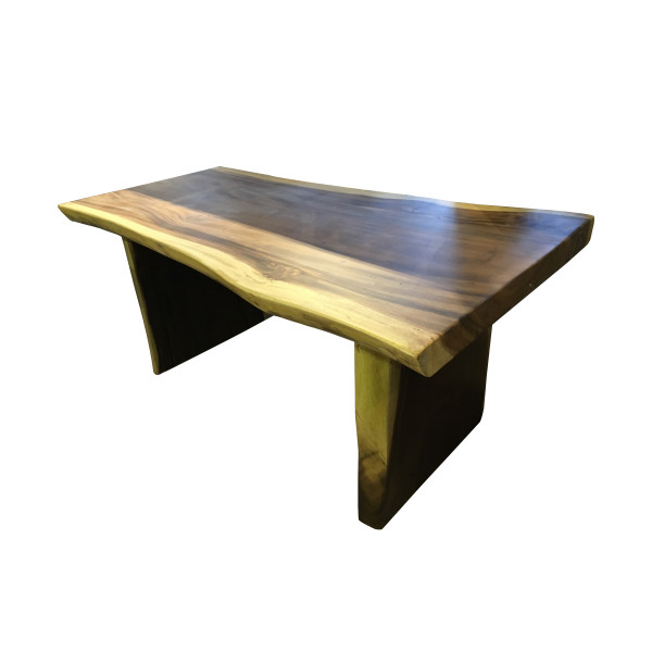 Dining Table - Suar 150x90 Wooden Leg