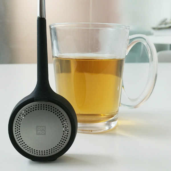 Koma - Tea Infuser (Black) by OMMO