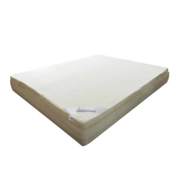 Sleepthetic™ Fitted Memory Foam Topper (Super Single 2 Inch thick)