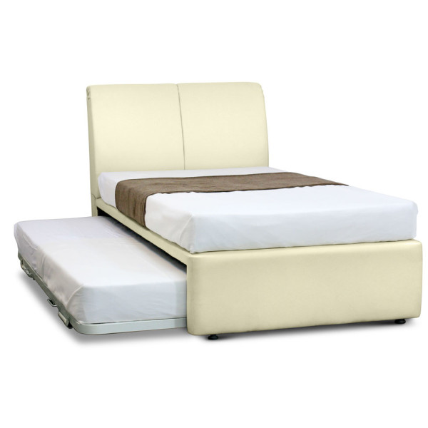Perry 3 in 1 basic mattress package furniture home for Basic twin bed frame