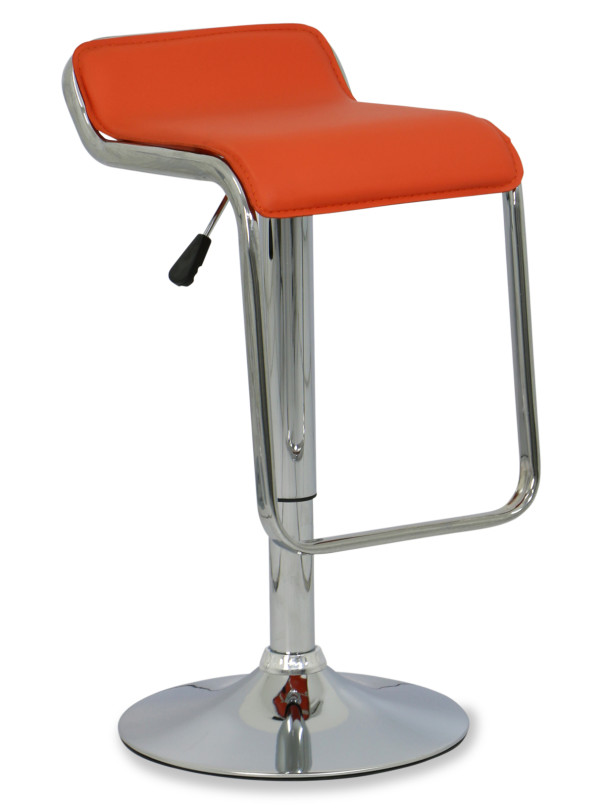 AS-IS Clearance: Piccolo Bar Stool in Orange