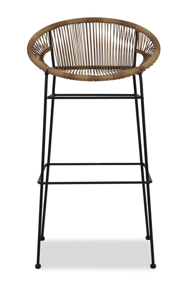 Elliot Wicker Bar Chair Brown Furniture Amp Home D 233 Cor