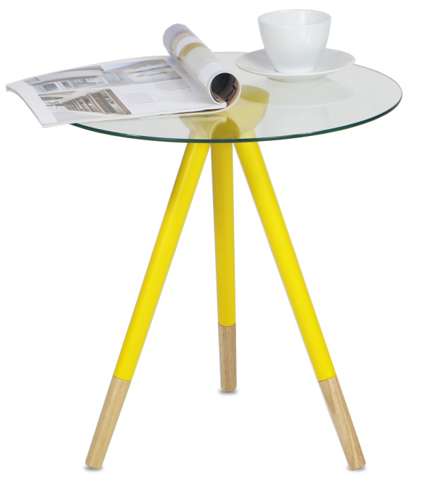Caldara Table Yellow