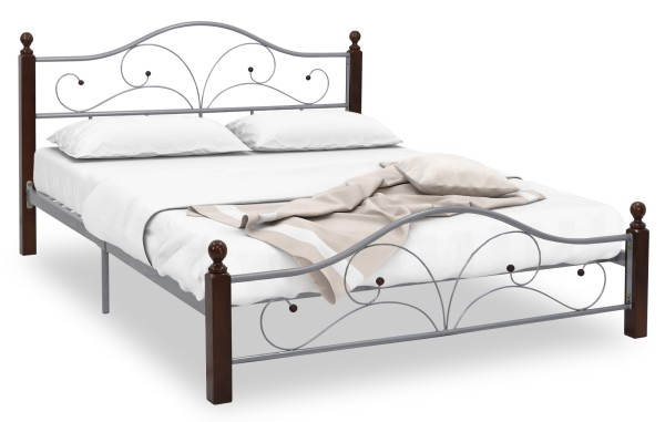 silver bed frame queen sullivan bed frame in size silver furniture 5212