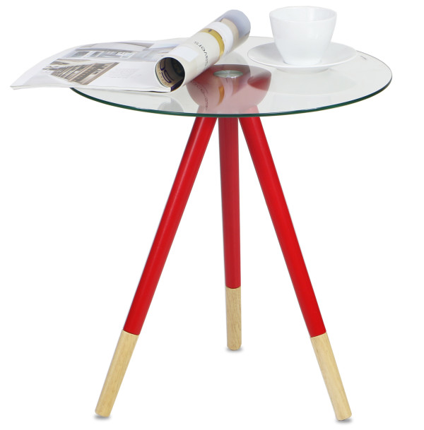 Caldara Table Red