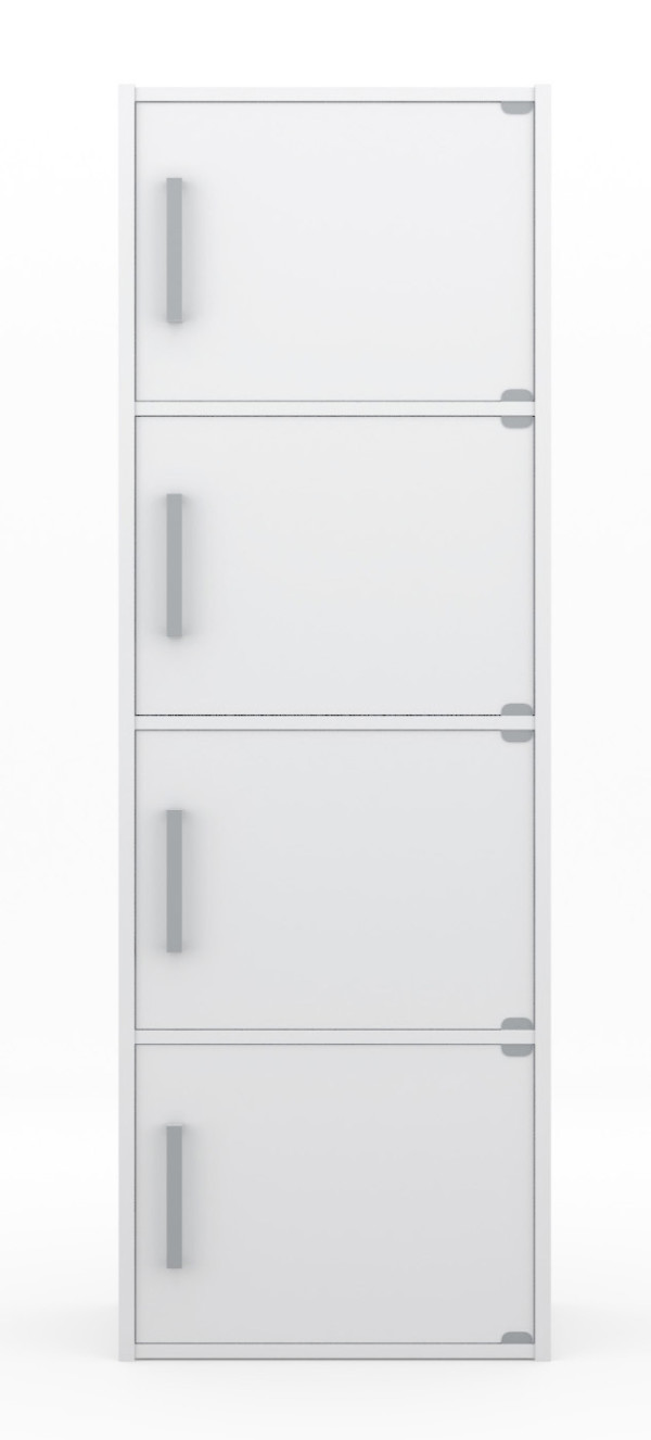 Axel Storage Cabinet in Snow White
