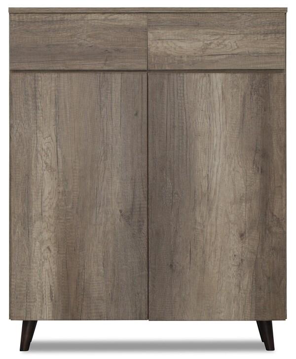 Mirjana Shoe Cabinet in Canyon Oak