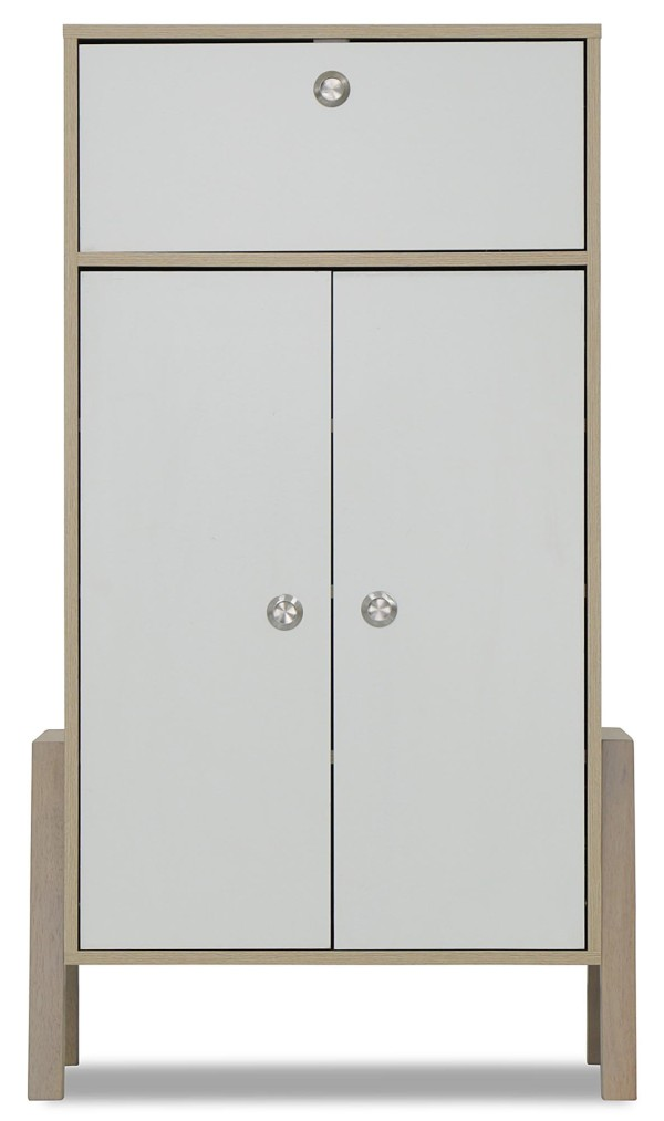 Chiso 2 Doors Shoes Cabinet with Drawer