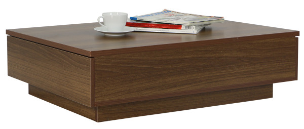 Avellino Low Coffee Table in Walnut